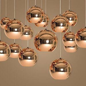 Das Bild Wird Geladen  Moderne Haengende Glaskugel Deckenleuchte Pendelleuchte Kronleuchter  Leuchte HC