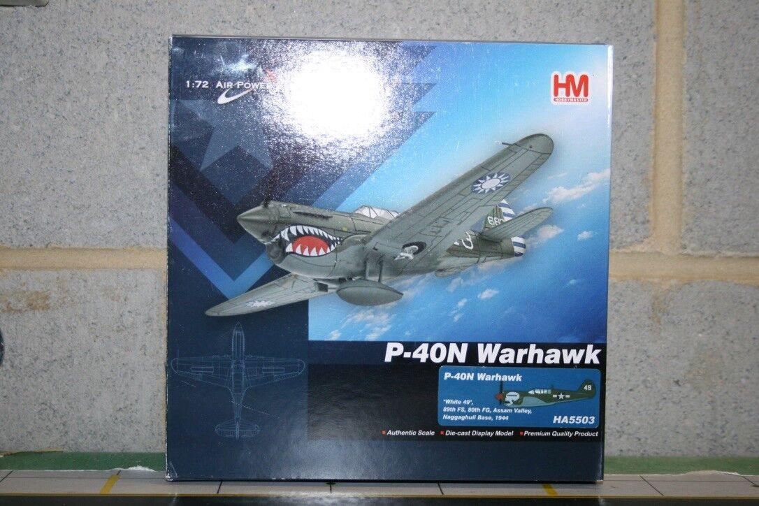Hobby Master USAAF 1:72 P-40 Warhawk  80th FG, 89th FS Burma Banshees   HA5503