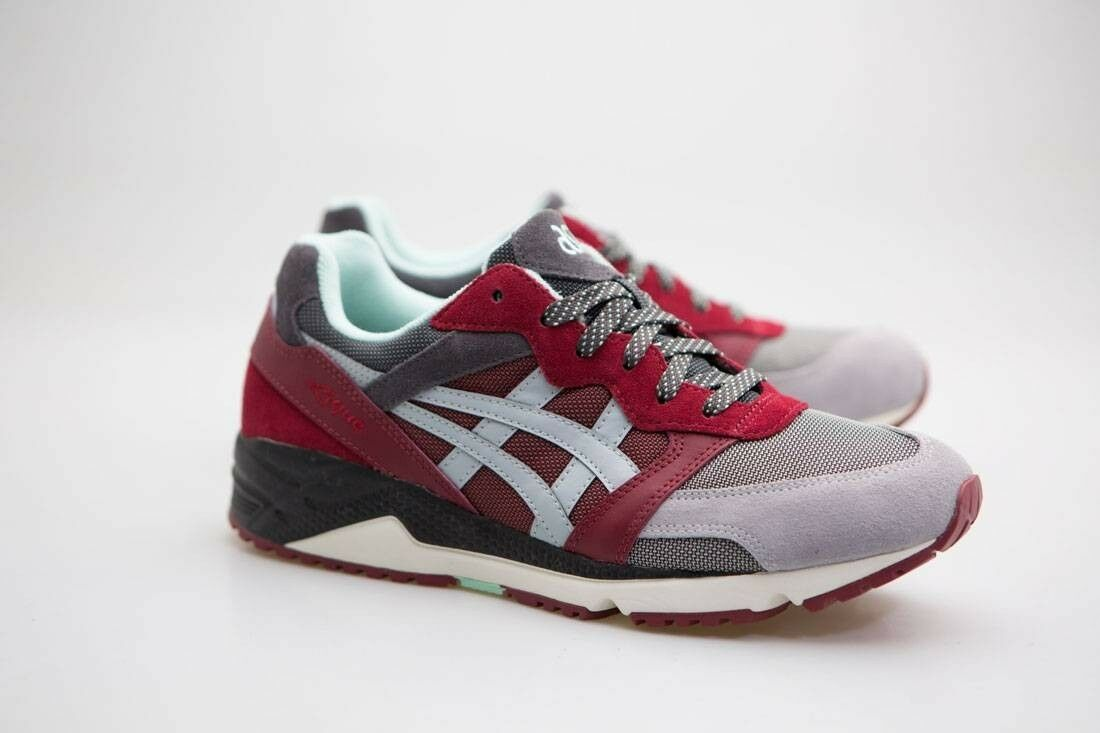 Asics Tiger Men Gel-Lique red gray H6H1L-2696