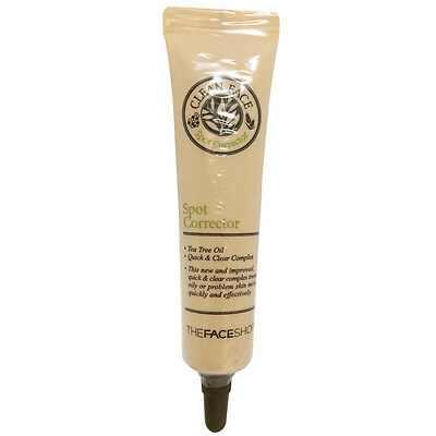 THE FACE SHOP Clean Face Spot Corrector 15ml Free gifts