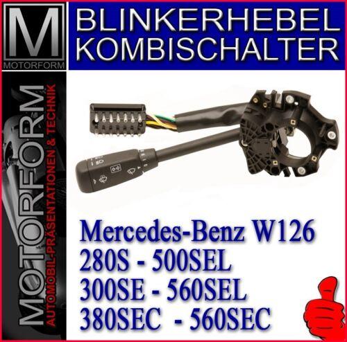 Mercedes 280SE 300SE 560SEL W126 Blinkerhebel Kombischalter Lenkstockhebel neu