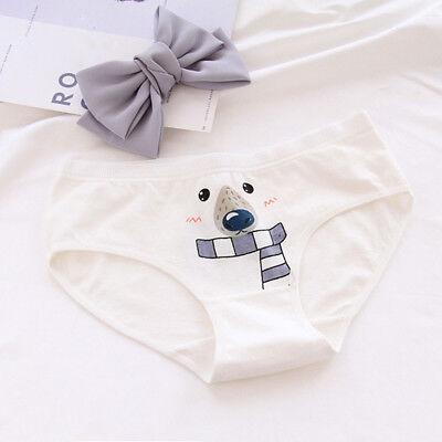 Cartoon Soft Women's Cotton Underwear Panties Briefs Knickers Underpants