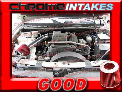 BLACK RED 2002-2003//02-03 CHEVY TRAILBLAZER//GMC ENVOY//BRAVADA 4.2L AIR INTAKE 2