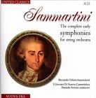 Sammartini: The complete early symphonies for string orchestra (CD, Sep-2013, 3 Discs, United Classics)