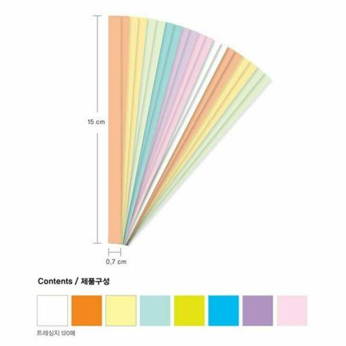 Jong Ie Nara Craft Origami Folding Star Pastel Star 8 Colors 120 Sheets