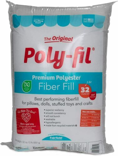 32-Ounce Fairfield Poly Fil Premium Fiber Fill