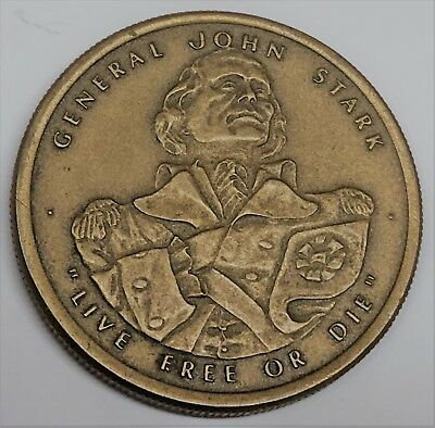 # 6500c New Hampshire Bronze Medal, U.s. Bicentennial 1976 Volume Groot