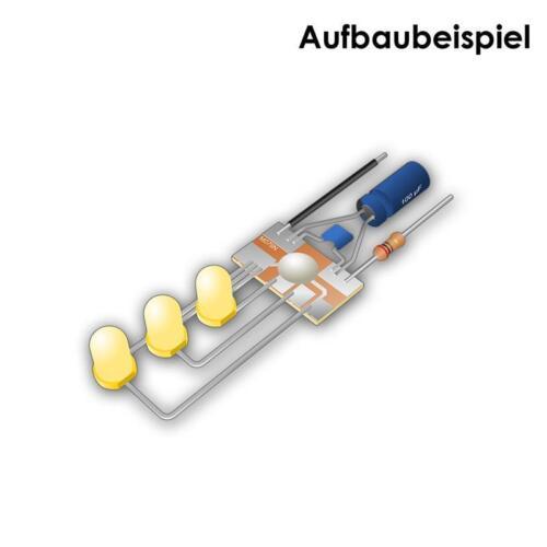 Blinker Lauflicht BAUSATZ von Kemo für 1-6 LEDs LED Steuerung Wechselblinker