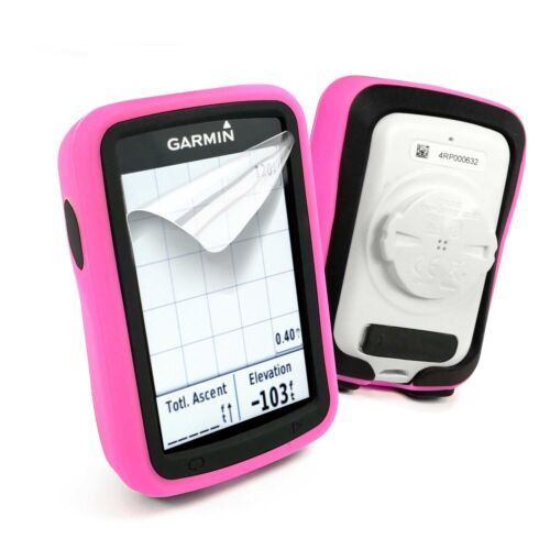 Tuff Luv Dual Layer Double Case for Garmin Edge explore 820-Pink