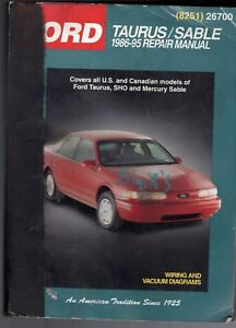 Details about CHILTON'S FORD TAURUS/MERCURY SABLE 1986-95 REPAIR MANUAL-SHO-WIRING on 95 f250 headlights, 95 f250 ignition coil, 95 f250 parts, 95 f250 engine, 95 f250 fuel pump, 95 f250 exhaust, 95 f250 service manual, 95 f250 charging system, 95 f250 tires, 95 f250 suspension, 95 f250 wiper motor, 95 f250 transmission, 95 f250 wheels, 95 f250 accessories, 95 f250 seats,