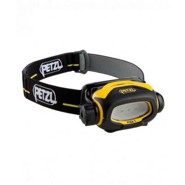 Petzl Pixa 1 Headlamp Black Yellow New