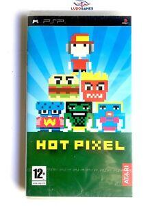 Hot-Pixel-PSP-Playstation-Nuevo-Precintado-Retro-Sealed-New-Videojuego-PAL-SPA