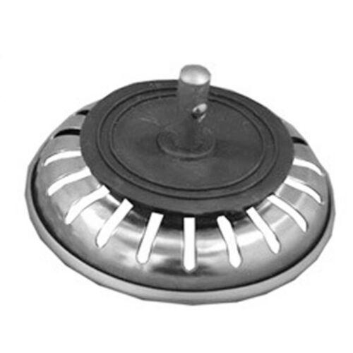 2x Abflusssieb Siebkorb Edelstahl Stopper Siebkörbchen Filtersieb Ersatz 80mm