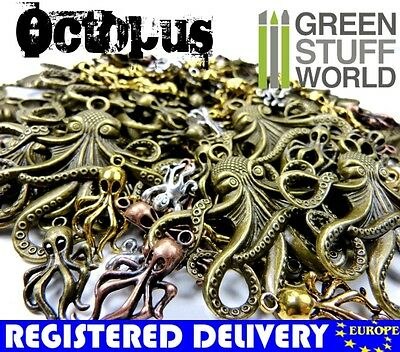 Steampunk OCTOPUS Set 85 gr - Jewelery Making - Beads, Charm and Pendant