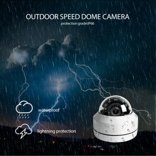 2MP 5MP Full HD PTZ IP Camera Outdoor 4X Zoom Mini Speed Dome Cam POE Optional