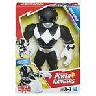 Playskool Heroes Mega Mighties Power Rangers Black Ranger 10-inch Figure V1