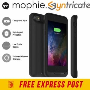 online store e03f9 89587 Details about Mophie Juice Pack Wireless Charging 2525mAh Battery Case For  iPhone 8/7 - BLACK