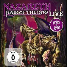 CD DVD Nazareth Hair Of The Dog Live DVD und Bonus CD
