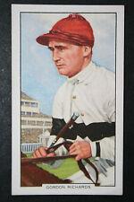 Gordon Richards  Champion Jockey    Original 1930's Vintage Card  # VGC