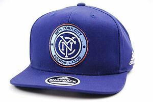 new product c0356 7ec2e Image is loading New-York-City-FC-adidas-VE58Z-MLS-Team-
