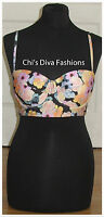 ASOS Fuller Bust Mix & Match Longline Bandeau Bikini Top Size 36D