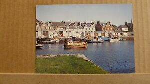 Postcard unposted Islands, Lewis, Stornoway harbour