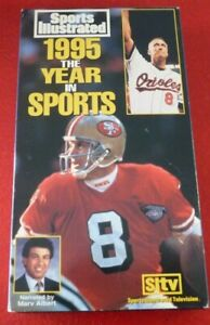 VHS-Movie-Sports-Illustrated-1995-The-Year-in-Sports