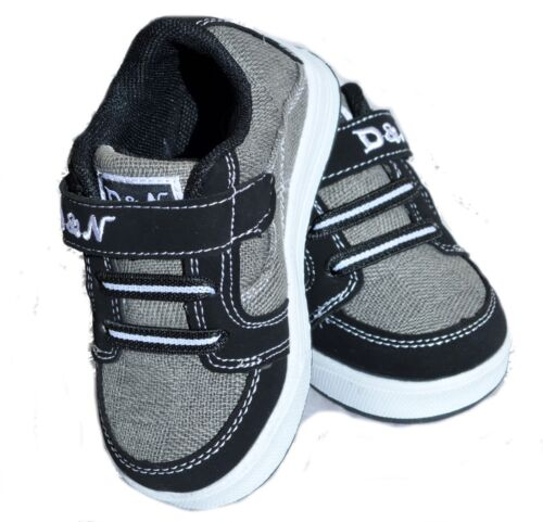Baby Toddler Kids Child Boys Girls Hooks Loops Tennis Casual Sneaker Shoes