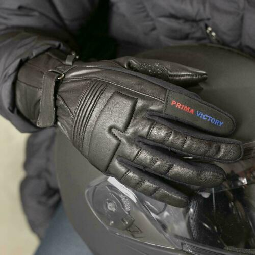 Real Leather Motor/_Bike Gloves For Mens /& Ladies Riding Gloves.