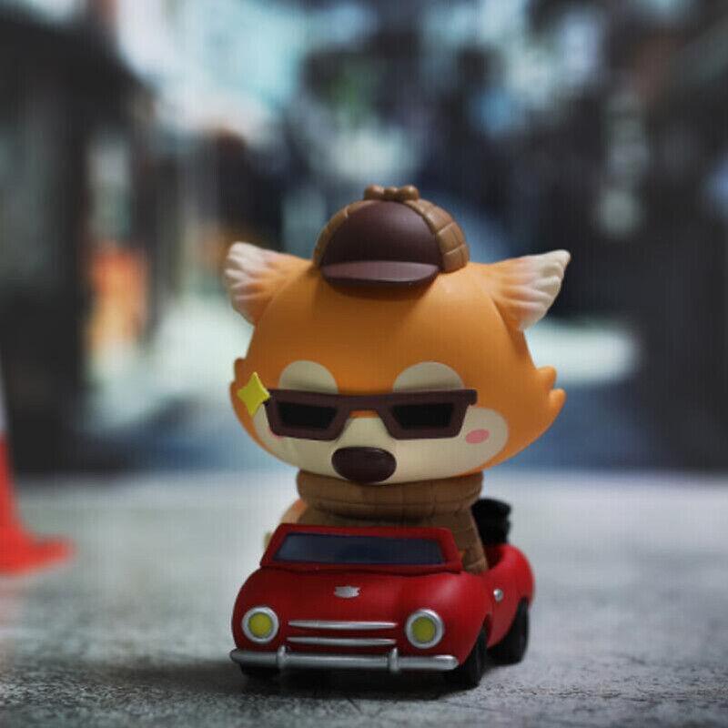POP MART x Okluna Lil' Foxes' Summer Hes JR. Mini cifra Designer giocattolo Secret