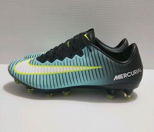super popular 8f3b3 e4dfa Image is loading Nike-Mercurial-Vapor-XI-AG-Aqua-Volt-Womne-