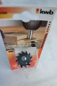 kwb Schlitzsäge  Holzfräser Scheibennut Nutfräser 2,5 x 35 mm Werkzeugstahl