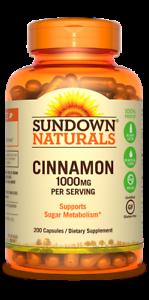 Sundown-Naturals-Cinnamon-1000mg-Supplement-200-Capsules