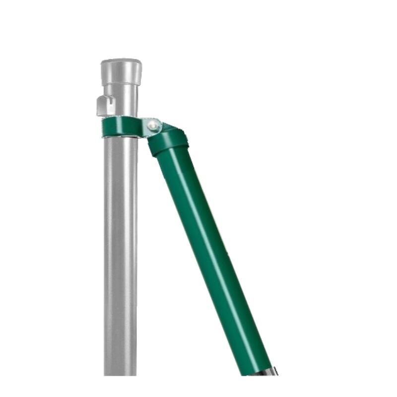 Zaunstrebe + Schelle für Zaunpfosten Maschendraht Fix-Clip Pro Zaun ...