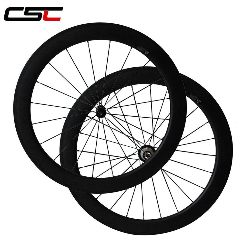 Straight Pull R36 Carbon hub 23mm Width 60mm Tubular Carbon wheels 1410g