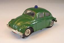 Slot Car Faller AMS Nr. 5776 VW-Käfer Polizei grün Typ2 Flachankermotor N.1 #229