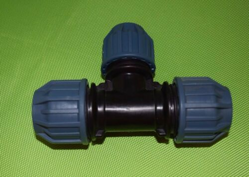 537 Jason PE Fitting T-Stück reduziert 32 x 25 x 32mm IG Trinkwasser PN16 DVGW