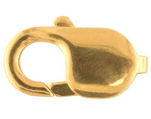 9 ct or jaune homard Trigger Bijoux Fermoir 15 mm long