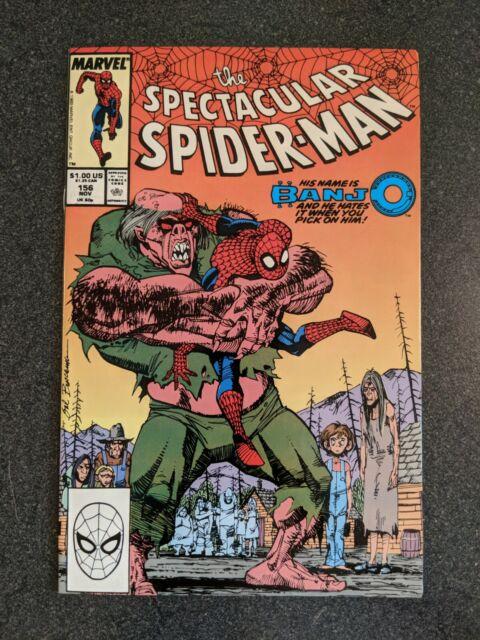 The Spectacular Spider-Man #156 (Nov 1989, Marvel) Banjo NM+