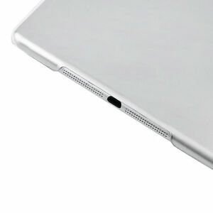 Crystal-Clear-Hard-PC-Plastic-Back-Case-Cover-Slim-Shell-For-Apple-iPad-Air-SG