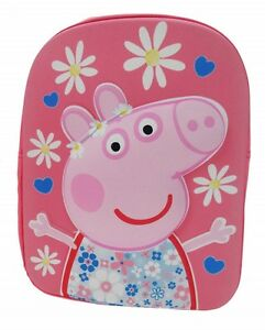 Peppa-Pig-HSH-Daisy-Flower-EVA-School-Backpack-Rucksack-Bag