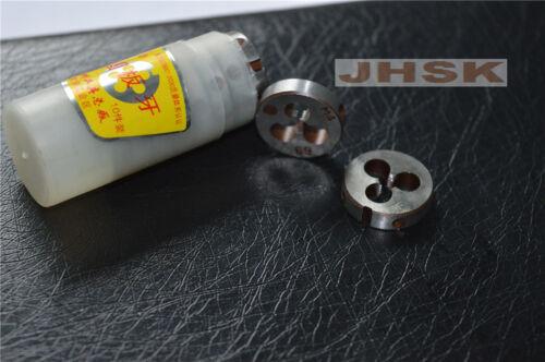 2pcs Metric Right Hand Die M4 X 0.7mm Dies Threading Tools 4.0mmX0.75mm pitch