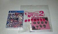 Criminal Girls 2: Party Favors Party Bag Edition Sony Playstation Vita Free Ship
