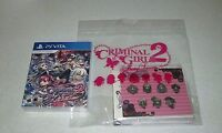 Criminal Girls 2: Party Favors Party Bag Edition Sony Playstation Vita Free Ship