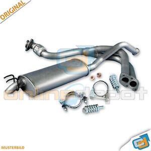 Endschalldämpfer Citroen C1 Peugeot 107 1.0 Auspuff Montagesatz Toyota Aygo