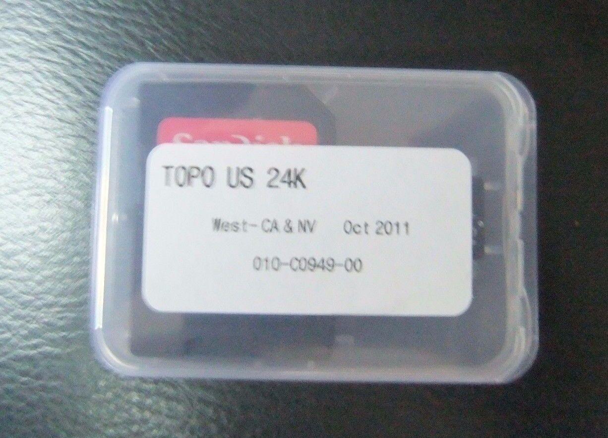 Garmin TOPO US 24K West microSD//SD