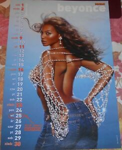 Beyonce Knowles A3 Magazine Poster