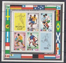 Antigua 1974 Bf 16 Coppa del mondo di calcio a Monaco MNH