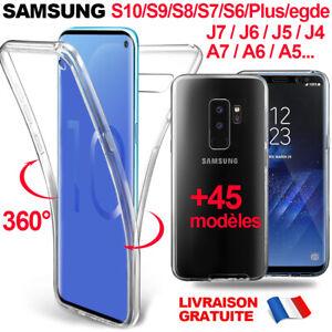 Custodia Protezione 360 Integrale Samsung S10 S9 S7 S8 Plus J4 J5 J6 A6 A7 2018