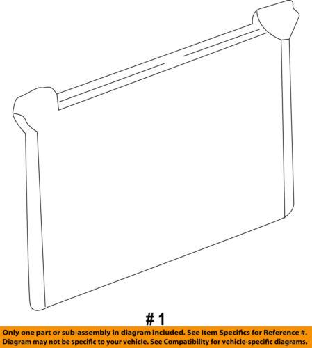 GM OEM Air Conditioner A//C AC-Condenser 20913751